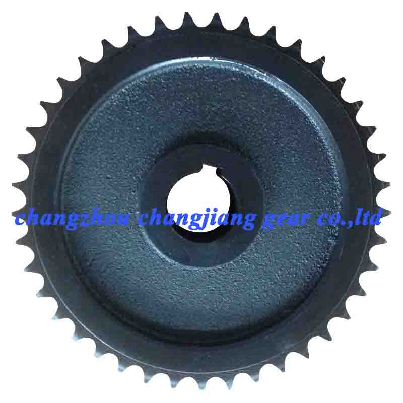 OEM Cast Iron Sprocket Forged Roller Chain Wheel