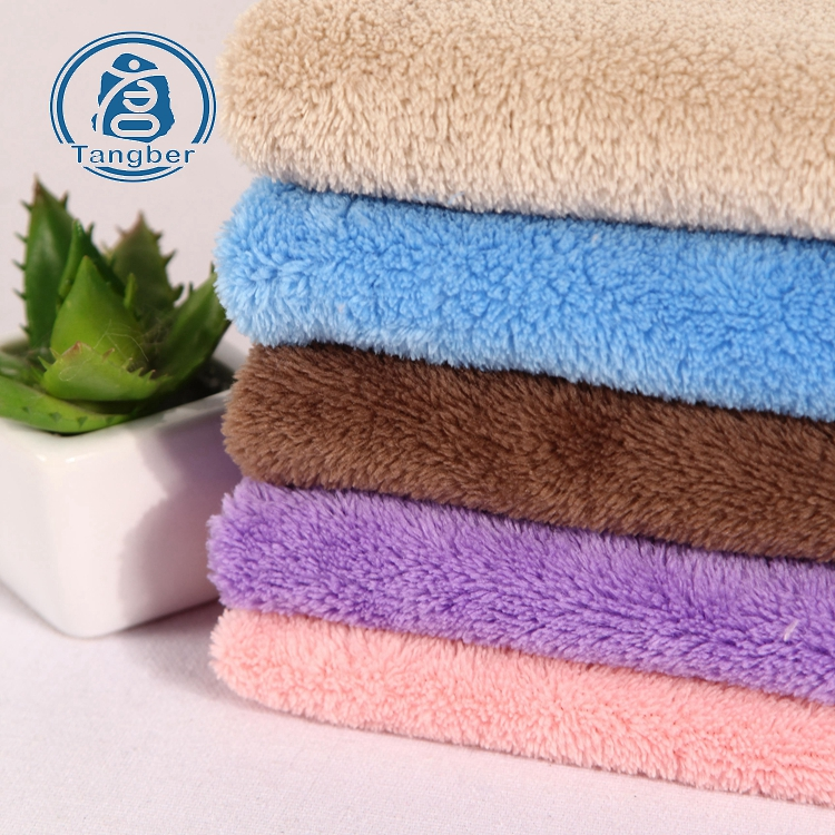 Polyester Coral Fleece Fabric