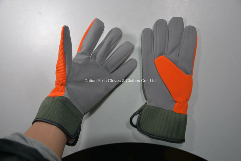 Safety Glove-Microfiber Glove-Work Glove-Industrial Glove-Labor Glove-Cheap Glove