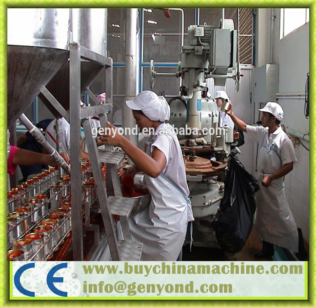 Full Automatic Stainless Steel Canned Tuna Machine