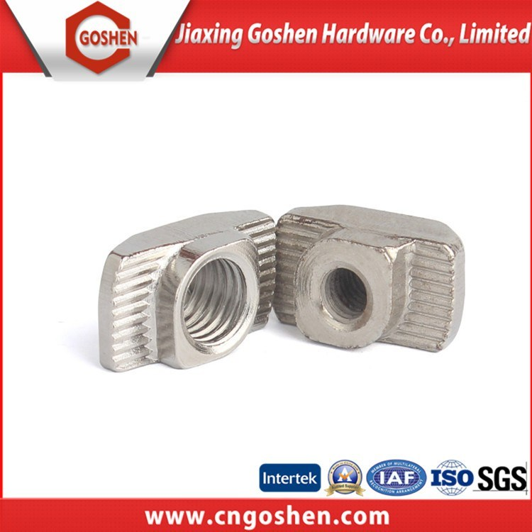Carbon Steel Stainless Steel Wheel Nut, T Nut, Square Nut, Welding Nut, Flang Nut, Spring Nut