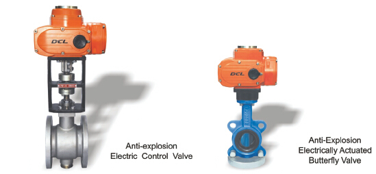 Dcl Quarter Turn Explosion Proof Valve Actuator