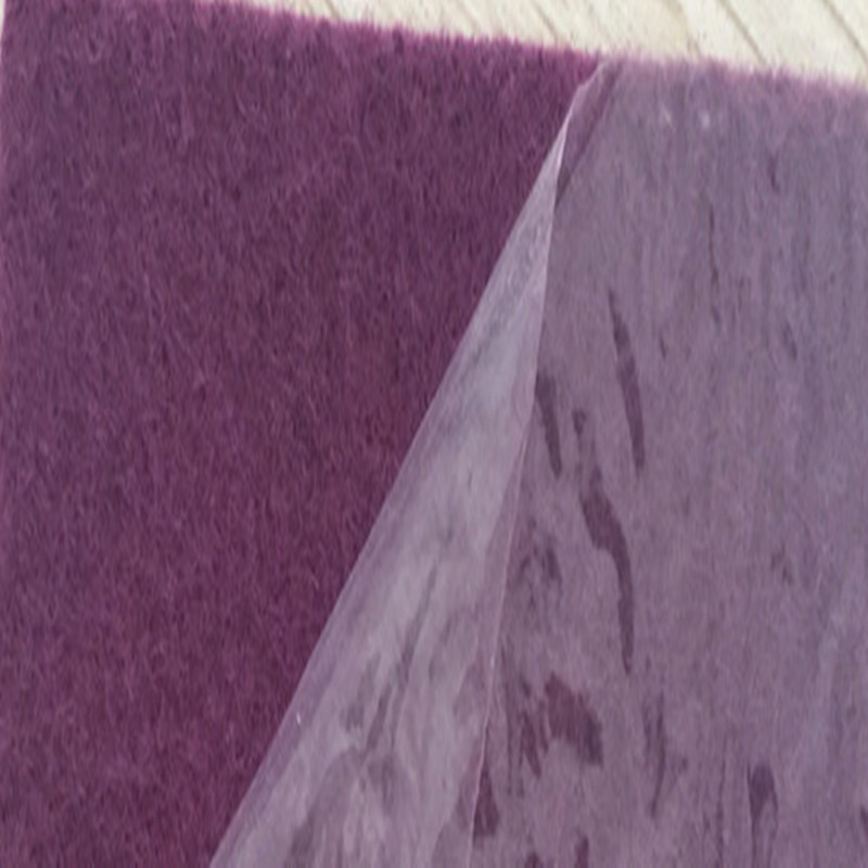 Film-Coated Exhibition Carpet with Protection Plastic Film