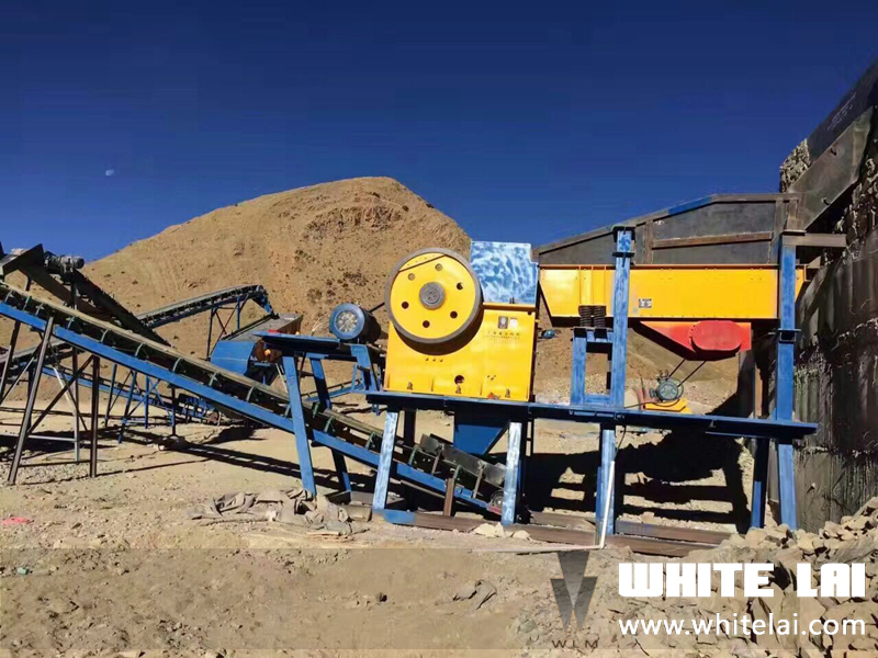 PE150*250 Small Laboratorial Mini Stone Jaw Crusher (PE150X250)