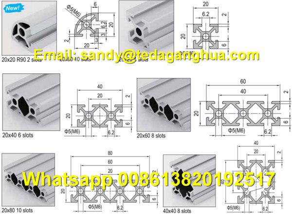 Cheap Price of 6061/6063 Industrial Door Window Medical Extrusion Aluminium Profile