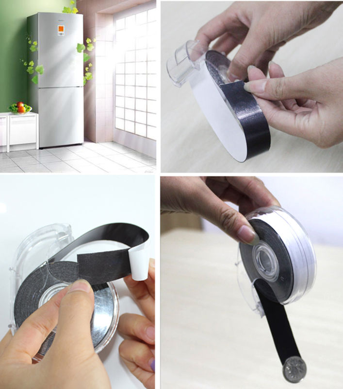 Self-Adhesive Magnet Tape with Dispenser