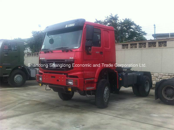 Sinotruk HOWO 4X4 Tractor Truck Zz4187n3727A