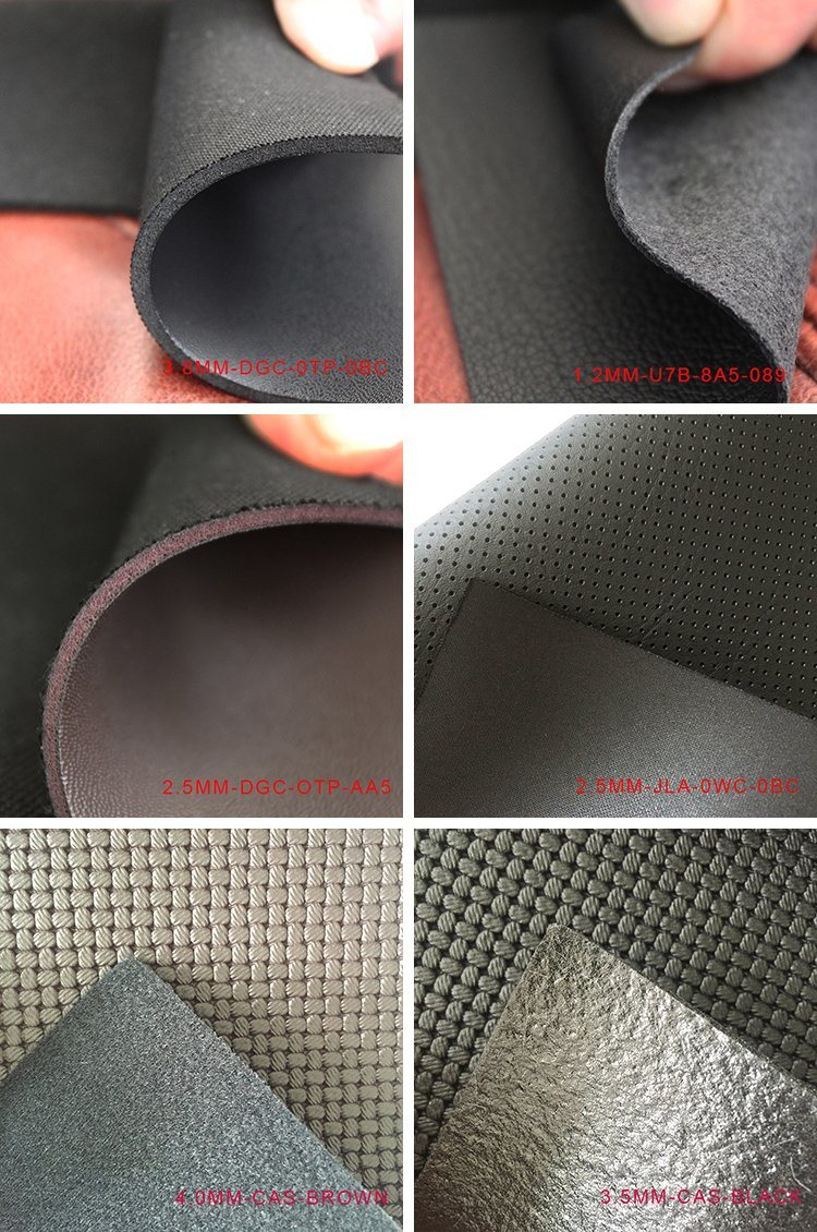 PVC Foaming Leather for Saddlery/Equestrian Horse Girth/Table Protector/Handball/Football/Volleyball/Steering Wheel