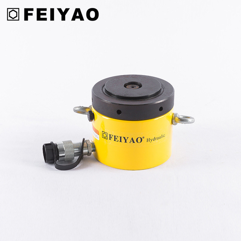 Fy-Clp Single Acting Low Height Lock Nut Hydraulic Cylinder with Competitive Price