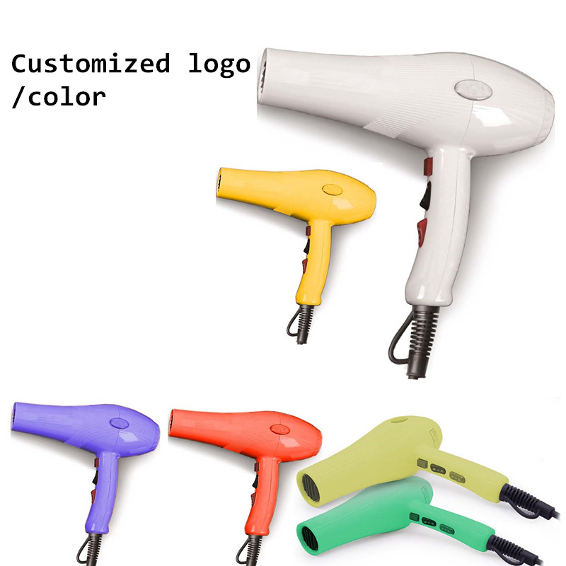 Low Noise High Temperature Low Speed Hair Dryer