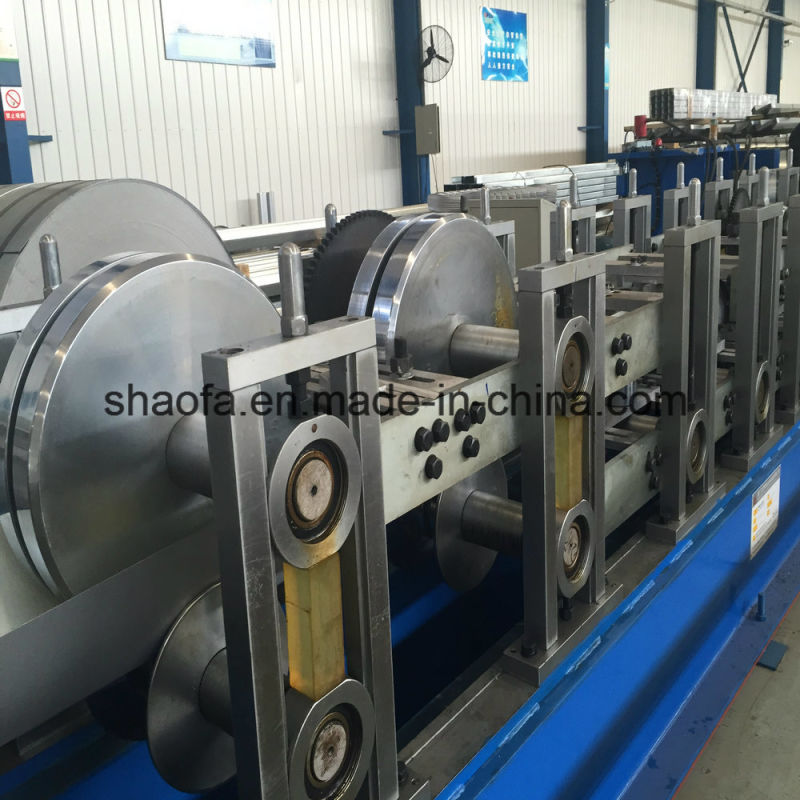 Iron Sheet Round Pipe Making Roll Forming Machine
