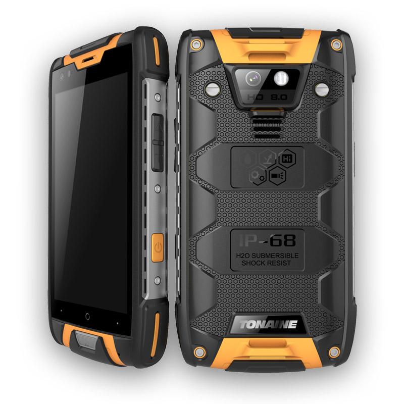 4.5inch 4G IP68 Rugged Waterproof Smartphone