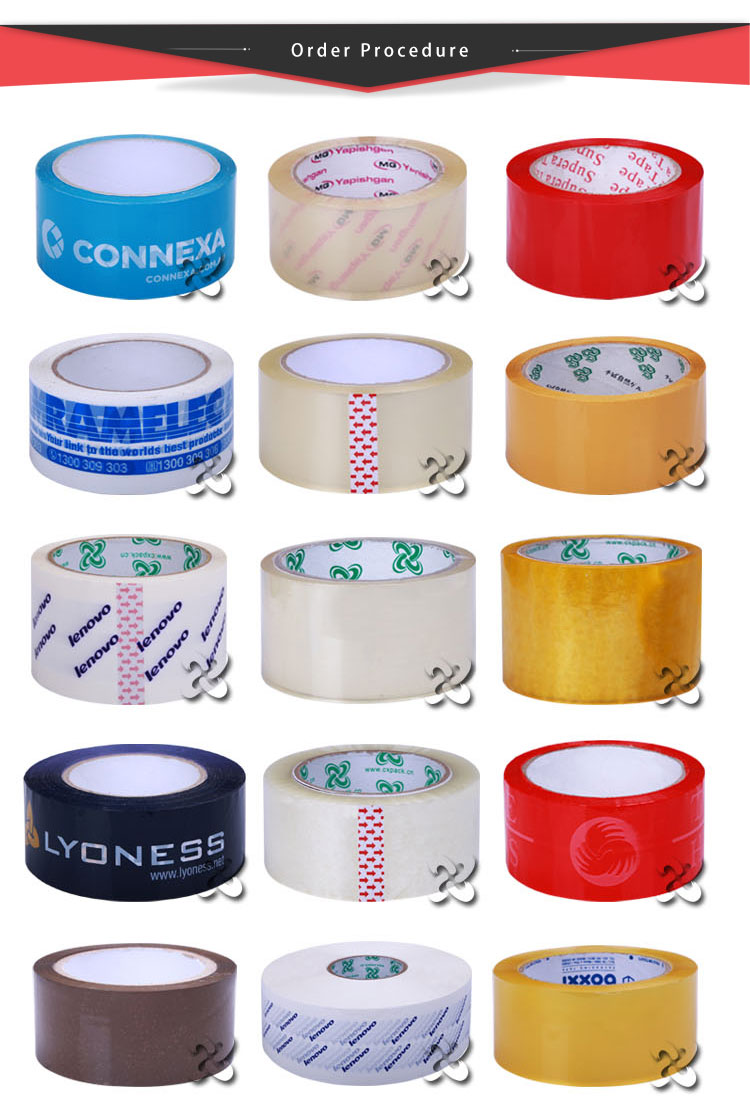 Printed Tape for Packaging