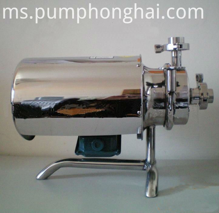 Stainless steel food grade sanitary centrifugal pump