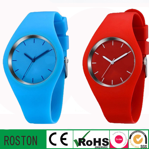 Environmental Protection Japan Movement Silicon Fashion Watch