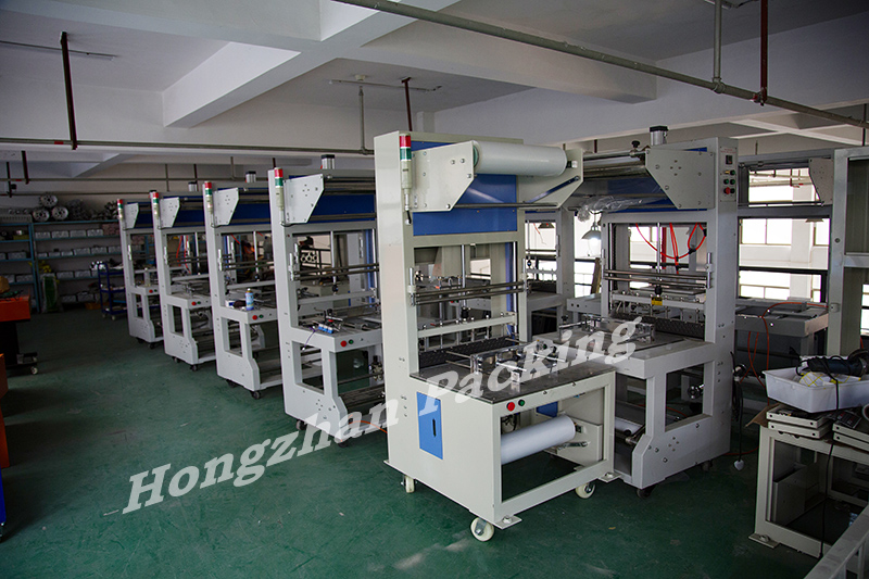 Semi Automatic Sealing Machine with Shrinking Tunnel Furnace for Food Snacks Print Product with POF PVC PE PP Film