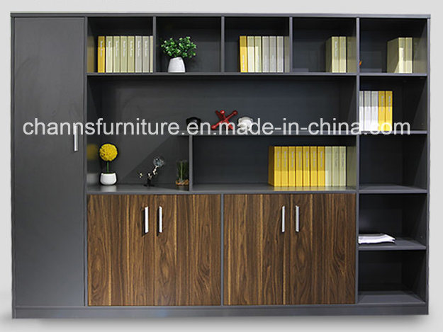 Luxury Foshan Furniture File Cabinet with Display Rack (CAS-FC1828)