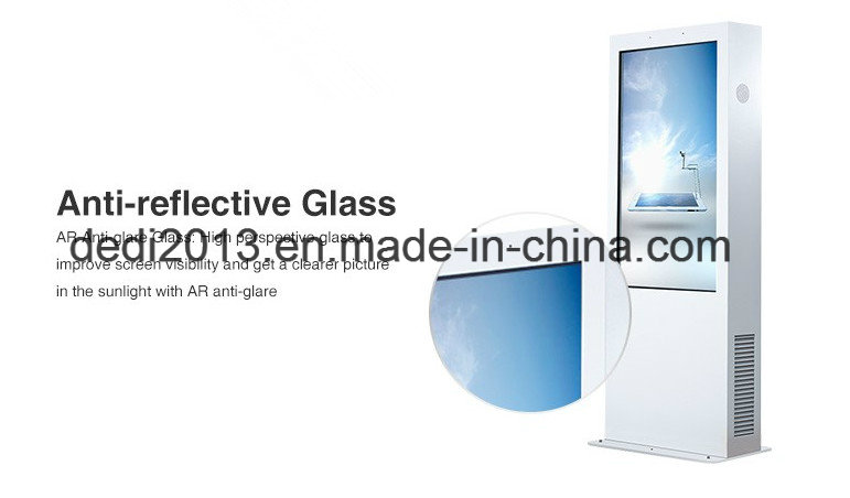 55 Inch High Brightness WiFi Advertising Large Outdoor LCD Display