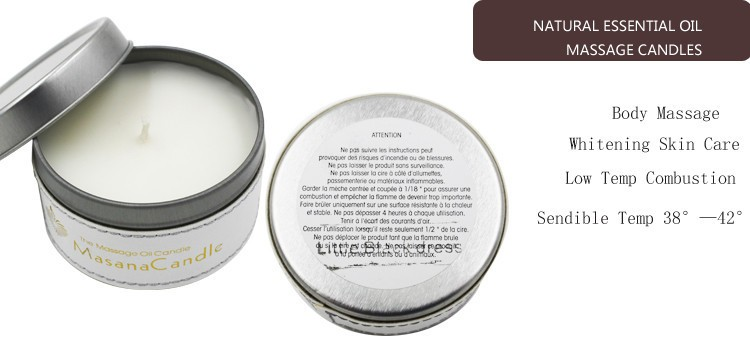 Soy Wax Tin Candles