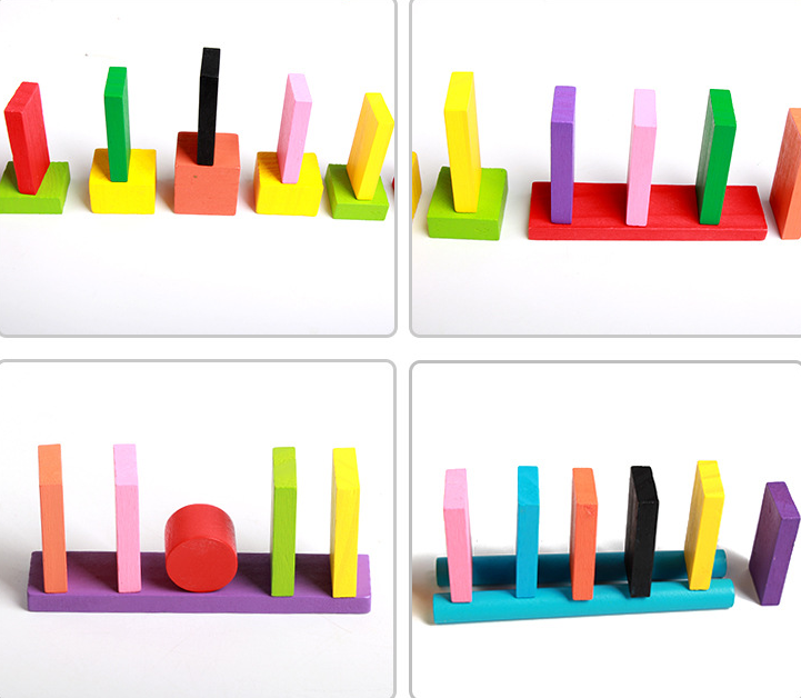 kids toy gift dominoes