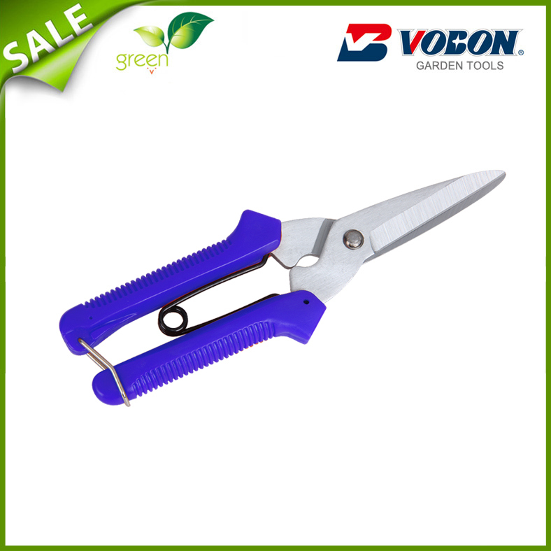 Stainless Steel Blade Mini Scissors Zinc Handle and Anti-Slip Grip