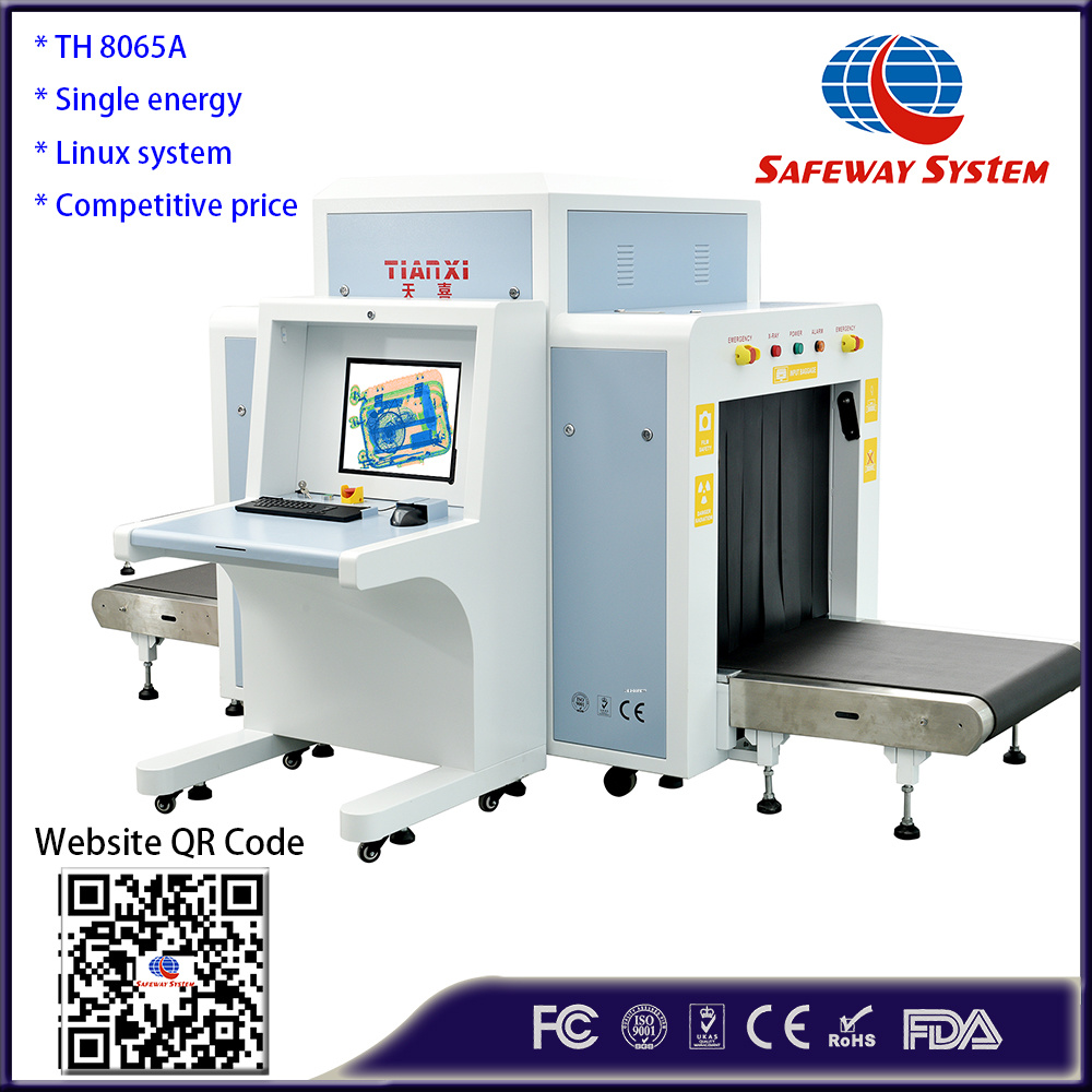Airport Cargo Luggage Security Detector, X-ray Scanner Equipment X Ray Baggage Scanner Th8065