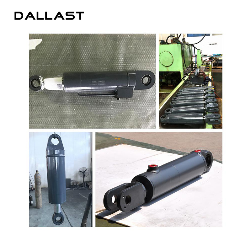 Hydraulic Cylinders Welded Double End Clevis Mounting Type/Hydraulic RAM