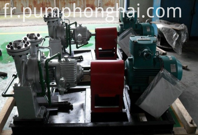AY stainless steel material hot oil centrifugal pump