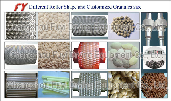 DG350 Ammonium phosphate Double Roller Fertilizer Granulator