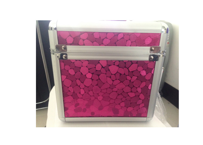 Aluminum Frame Make up Box, Cosmetic Case, Beauty Case with Mirror and Plate Inside