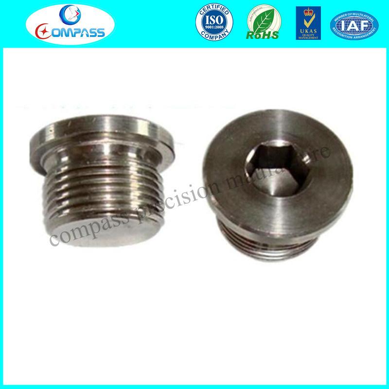DIN908 Stainless Steel Hexagon Socket Screw Plugs