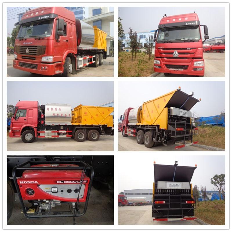 Sinotruk HOWO 6X4 Road Maintance Truck