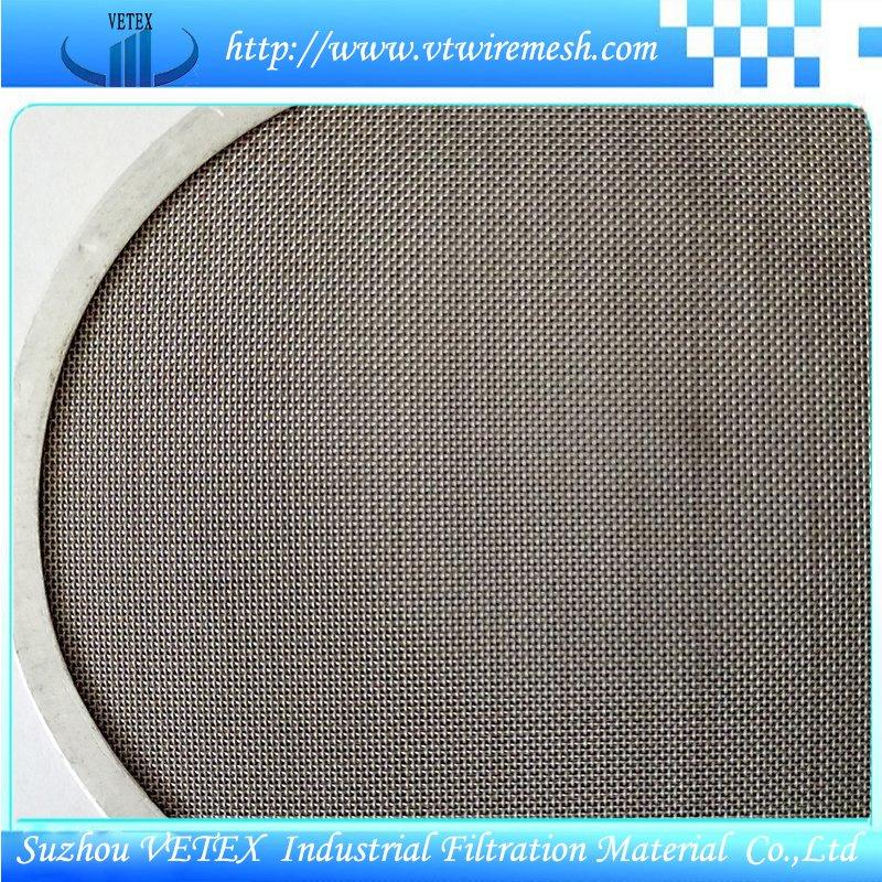 Rectangular Stainless Steel Filter Disc