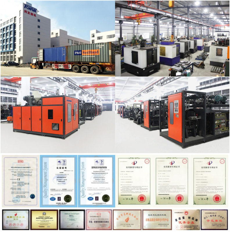 All Kinds of Plastic Water Bottle Blow Molding Machine