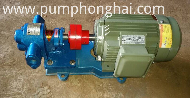 gear oil pump show