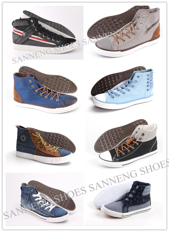 Men Shoes Leisure Comfort Men Canvas Shoes Snc-0215009