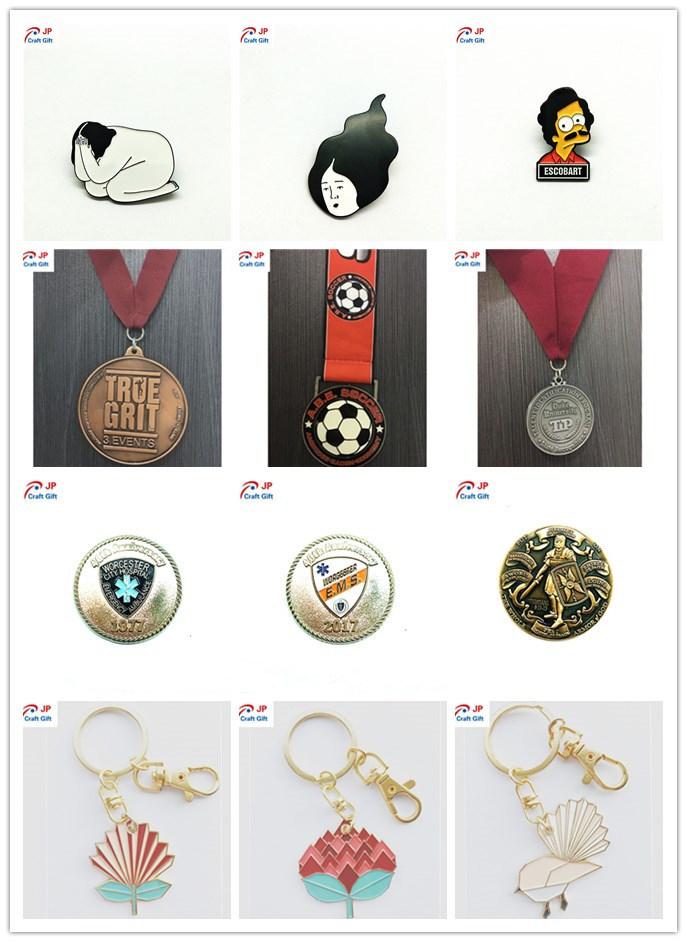 Customized Hot Sale Round Metal Keychain