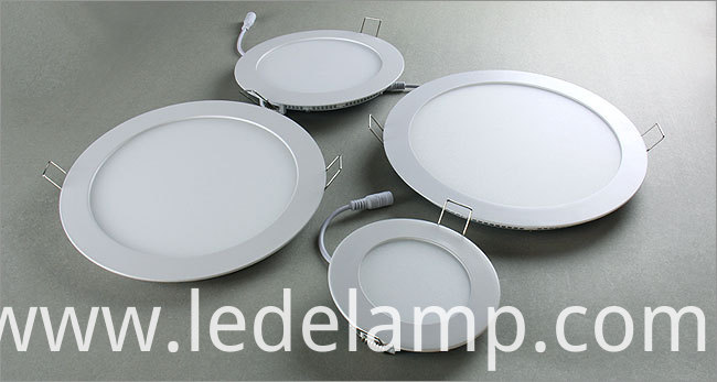 Ultra Thin Round Lamp 18W SMD LED Panel Ceiling Light