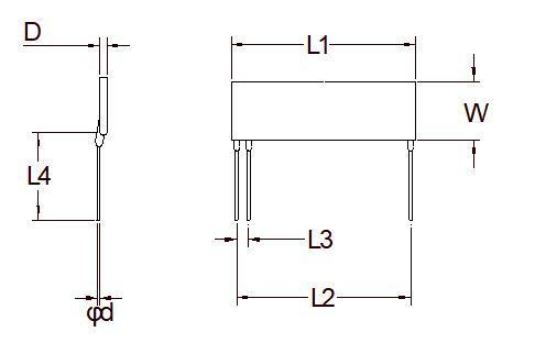 Планарный резисторный делитель высокого напряжения