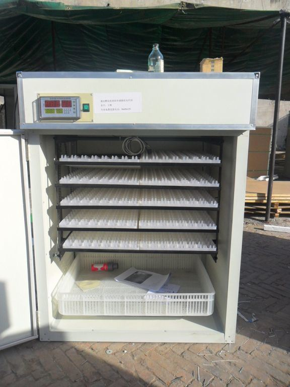 98% Hatching Rate 880 Eggs Fully Automatic Solar Egg Incubator (KP-9)