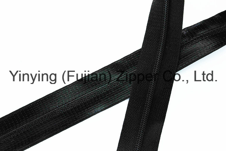 Waterproof Nylon Long Chain Zipper for Rain Coat (#5)
