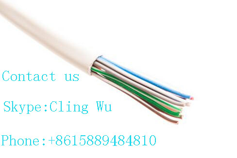 U/UTP Unshielded Cat 3 //Cat 5 Twisted 25/50/100 Pair Installation Cable