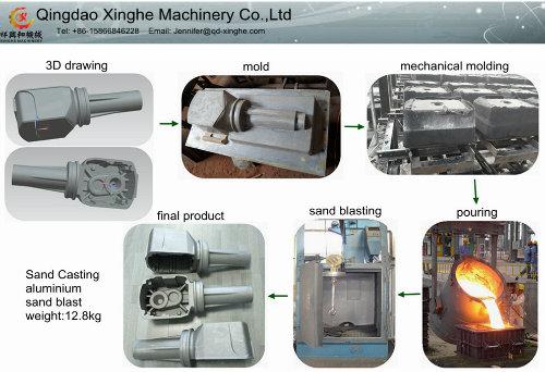 OEM Parts ADC2 Aluminum Casting Die Casting Marine Parts