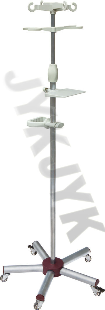 Stainless Steel Medical IV Stand
