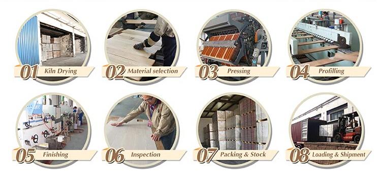Household/Commercial Engineered Blackbutt Timber Flooring/Hardwood Flooring (85/92/122/130mm)