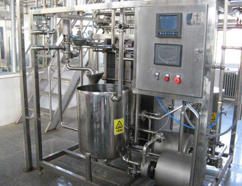 1000L/H Uht Plate Pasteurizer for Uht Milk