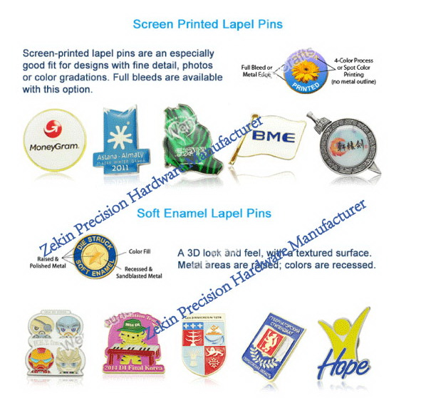 Fashion Customized Metal Badge with Free Design
