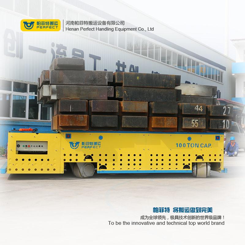Heavy Duty Materials Workshop Steerable / Rail Transfer Cart