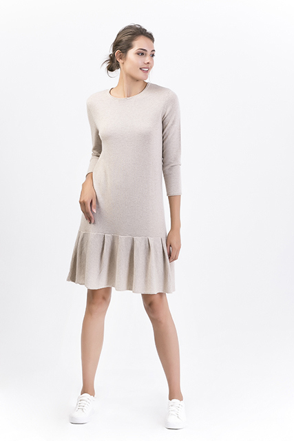 Women's Cashmere Long Pullover