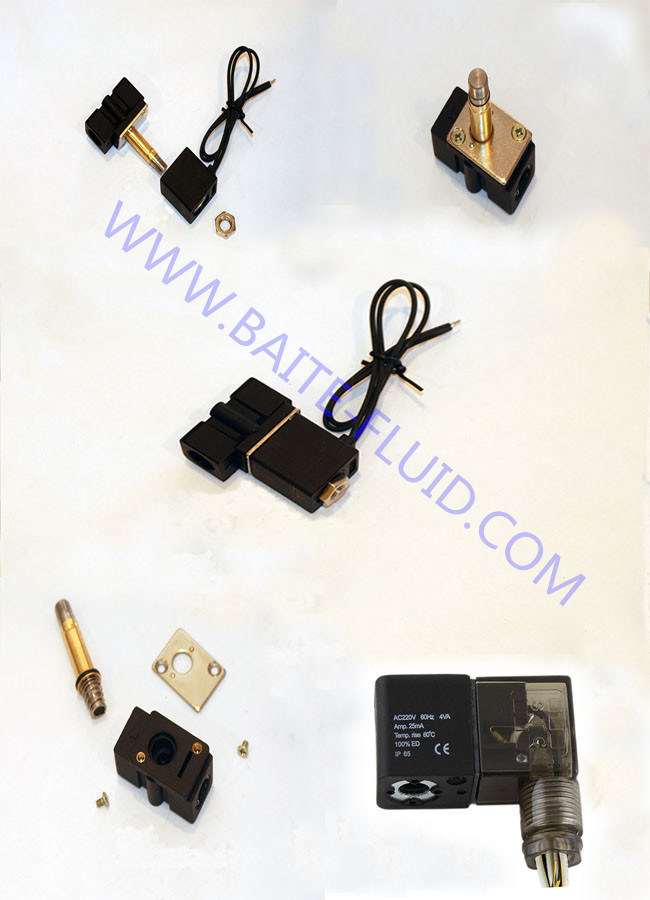 Made in China 2 Inch Gas 24V DC Solenoid Valve for Pneumatic Valve
